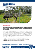 Southern Wire FarmFence Brochure