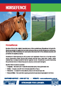 Southern Wire Horsefence Brochure